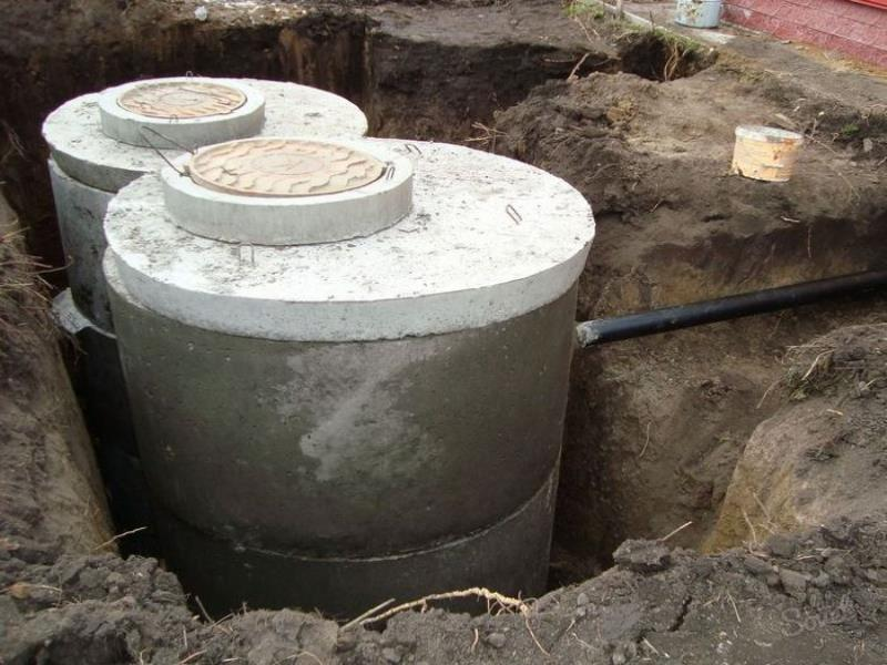 канализация из колец под ключ цена