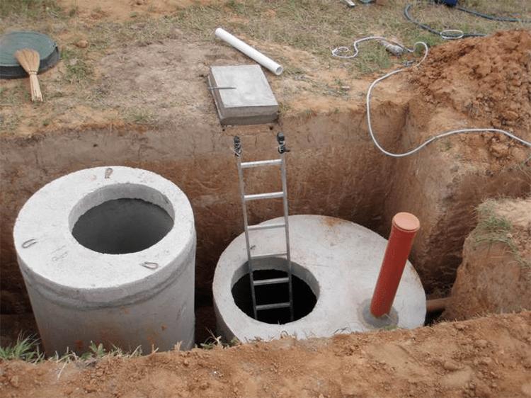 бетонный септики в калининграде