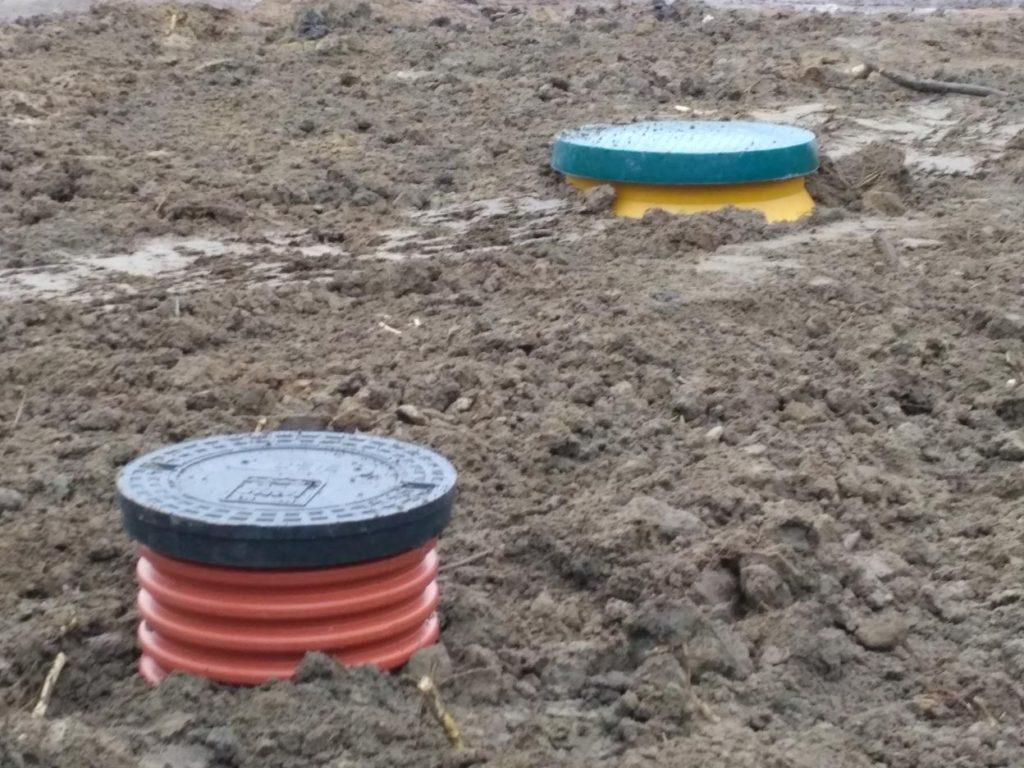 Монтаж станции биологической очистки «Дочиста ПРОФИ-8»