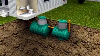 автономная канализация росток загородная плюс